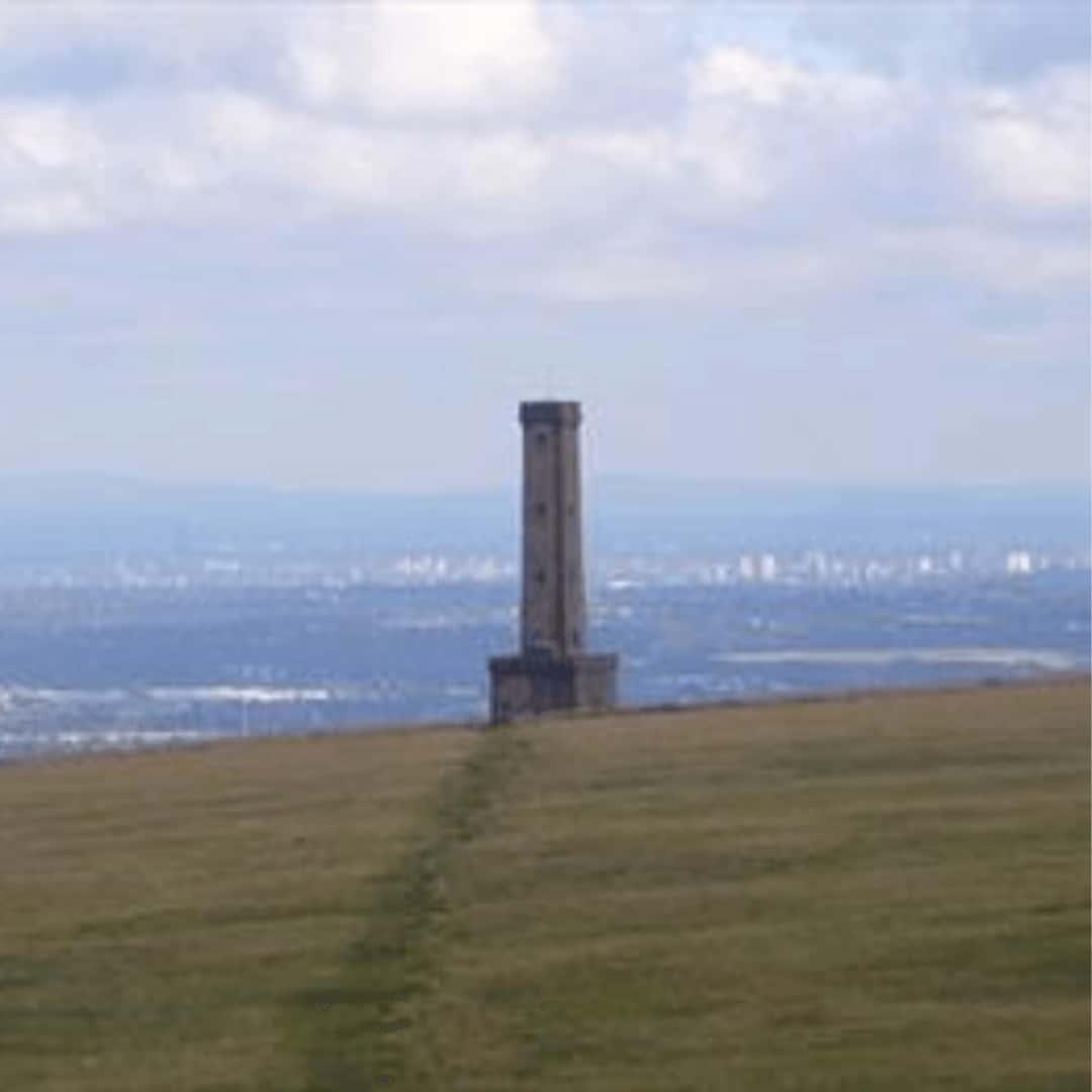Peel Tower, Holcombe Moor and Ramsbottom